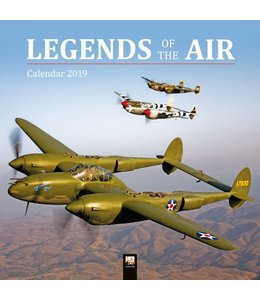 Flame Tree Legends of the Air Kalender 2019