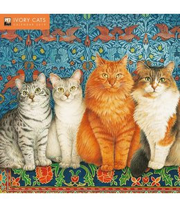 Flame Tree Ivory Cats Kalender 2019