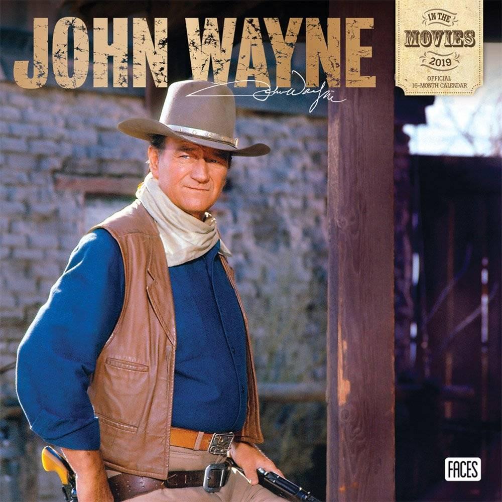 John Wayne Kalender 2019