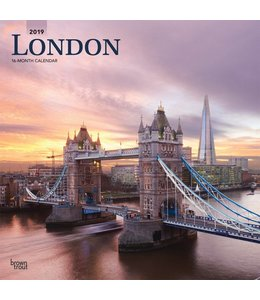 Browntrout London Kalender 2019