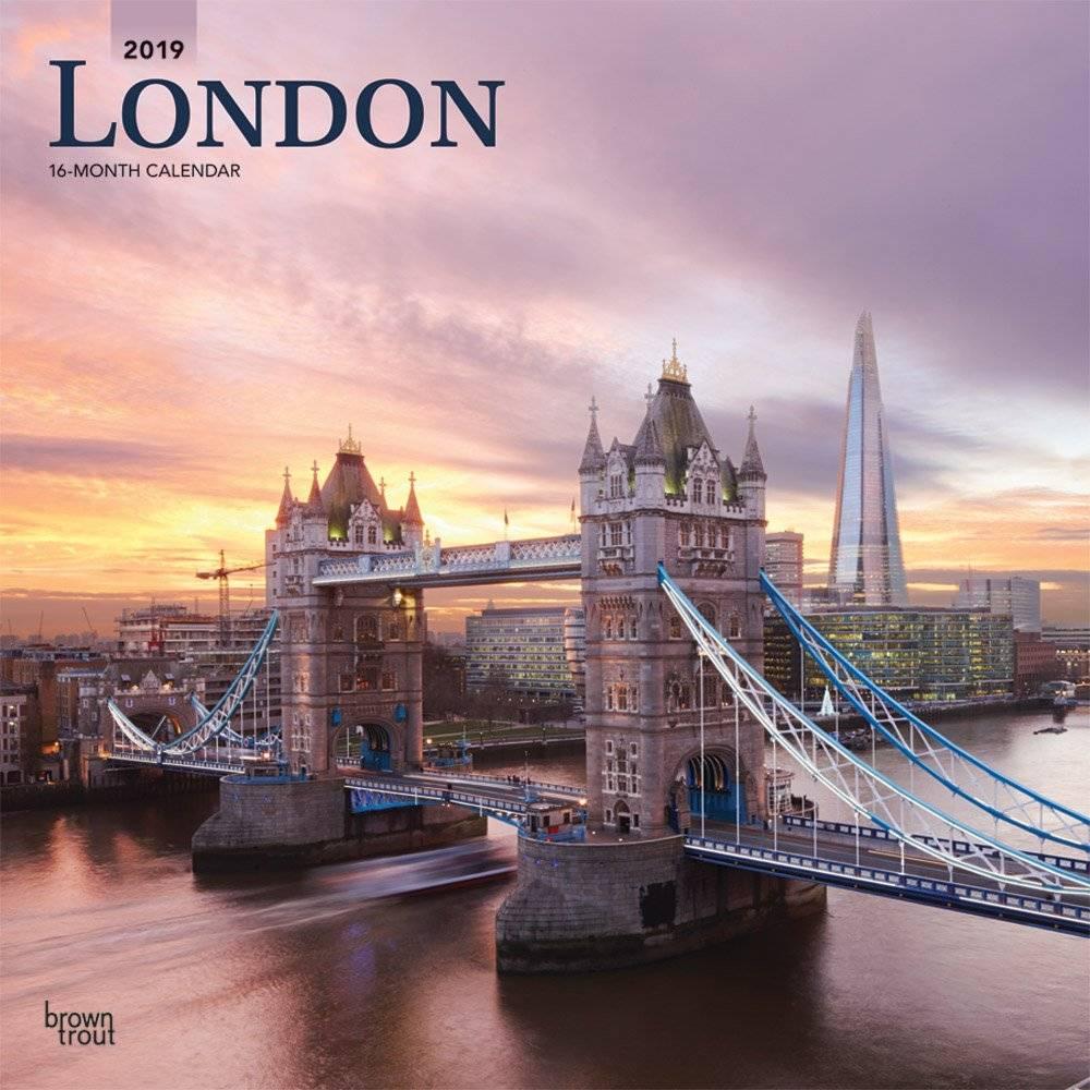 London Kalender 2019 Browntrout