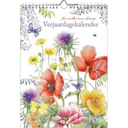 Janneke Brinkman Veldbloemen Verjaardagskalender