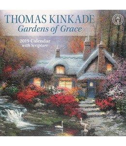 Andrews McMeel Thomas Kinkade Gardens Kalender 2019