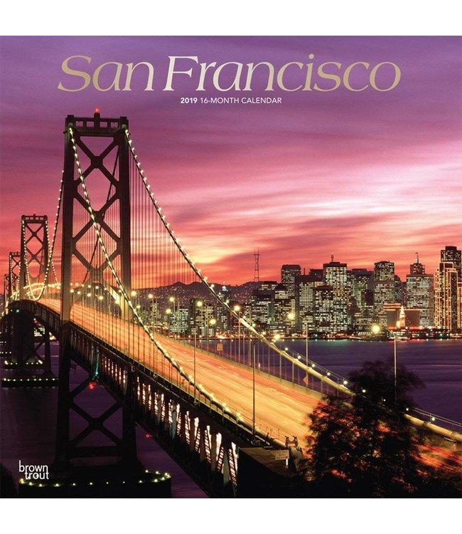 Browntrout San Francisco Kalender 2019