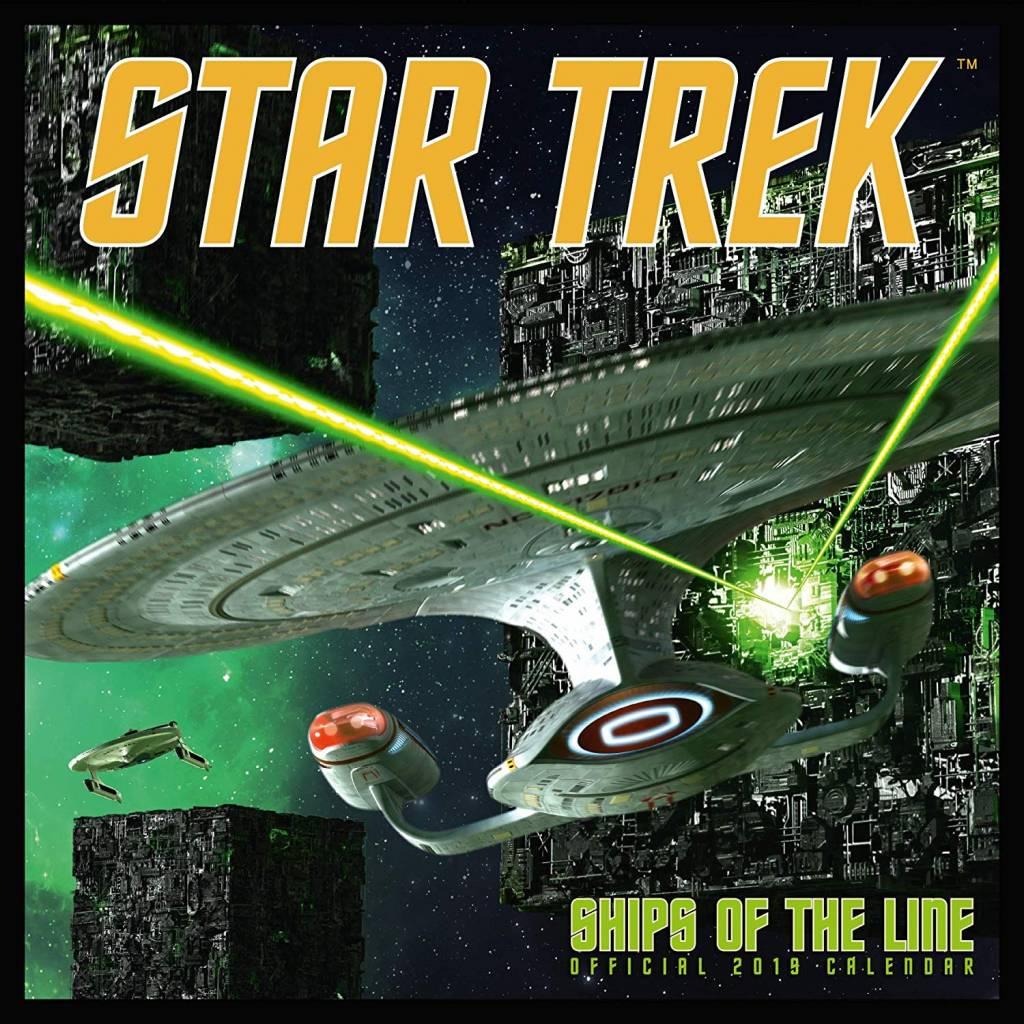 Star Trek Ships Kalender 2019