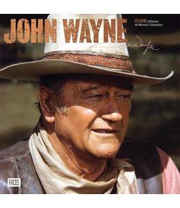 Browntrout John Wayne Kalender 2019 Faces