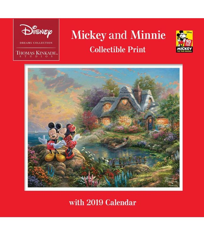 Andrews McMeel Thomas Kinkade Kalender 2019 Mickey