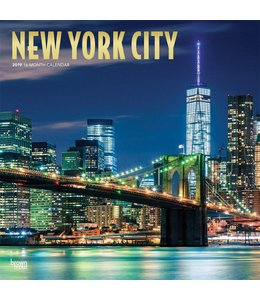 Browntrout New York City Kalender 2019