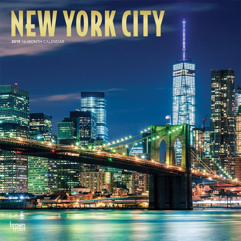 New York City Kalender 2019 Browntrout