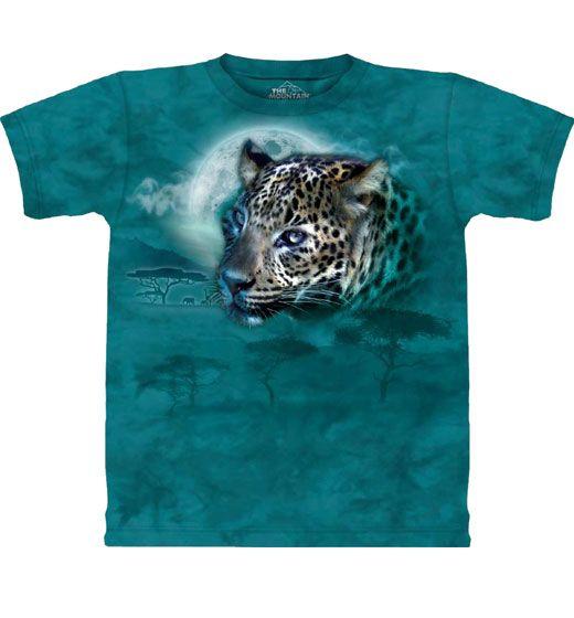 Luipaard T-shirt Leopard Moon