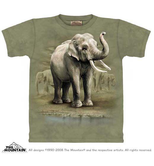 Asian Elephants T-shirt