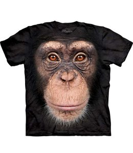 The Mountain Chimp Face T-shirt Chimpansee