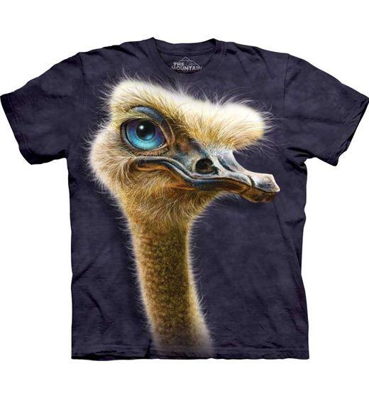Ostrich Totem T-shirt