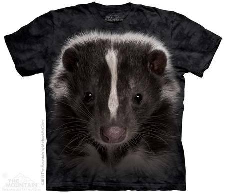 Skunk Portrait T-shirt