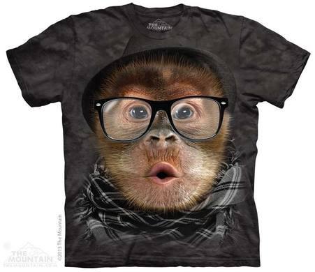 Hipster Orangutan Baby T-shirt
