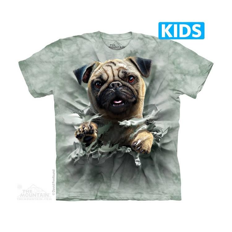 Pug Breakthru Kids T-shirt