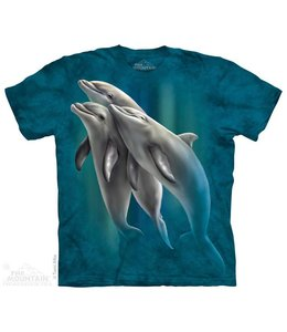 The Mountain Three Dolphins T-shirt