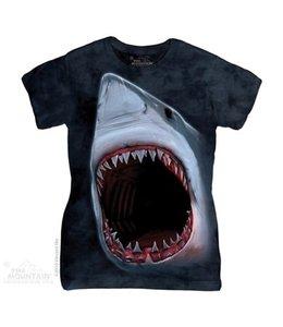 The Mountain Shark Bite Ladies T-shirt