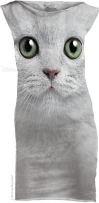 Katten Green Eyes Face Mini Jurkje