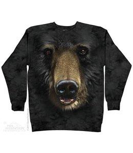 The Mountain Beren Black Bear Face Sweater