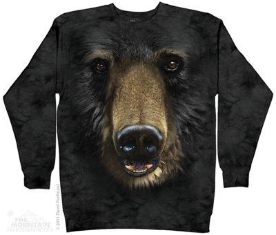 Beren Black Bear Face Sweater