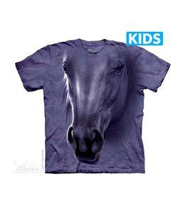The Mountain Horse Head Kids T-shirt