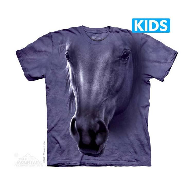 Horse Head Kids T-shirt