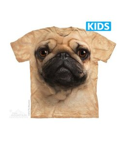 The Mountain Pug Face Kids T-shirt