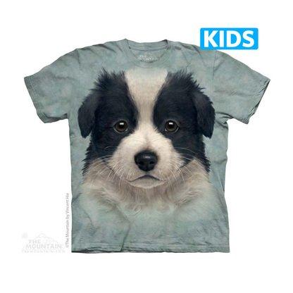 Border Collie Puppy Kids T-shirt