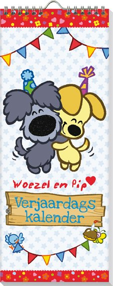 Woezel & Pip Verjaardagskalender