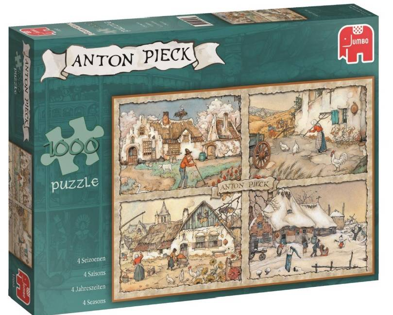Puzzel Anton Pieck 4 Seizoenen 1000 Stukjes