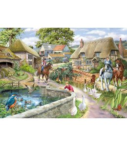 The House of Puzzles Bridle Path Puzzel 1000 Stukjes
