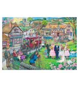 The House of Puzzles Twenties Green Puzzel 1000 Stukjes