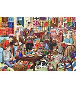 The House of Puzzles Knit en Natter Puzzel 1000 Stukjes