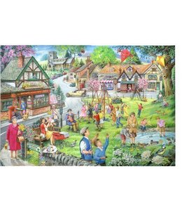 The House of Puzzles Spring Green Puzzel 1000 Stukjes