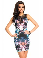 Fashion Zomerjurk met Bloemenprint Multicolor