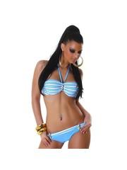 Neckholder Bikini Set met Fonkelende Steentjes