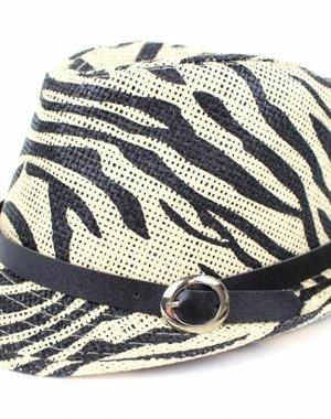 Fashion Hoedje Beige / Zwart