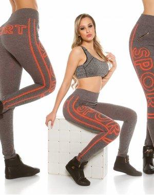Trendy Workout Legging Oranje