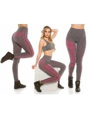 Trendy Workout Legging Fuchsia