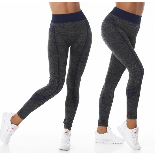 Trendy Thermo Legging Marine Blauw