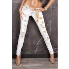 Skinny Jeans in Trendy Gewassen Look
