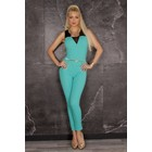 Lange Fashion Jumpsuit Turquoise