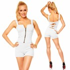 Korte Fashion Playsuit Wit
