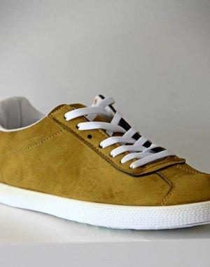 Suède-Look Sneakers Khaki
