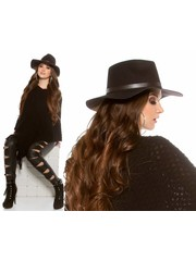 Trendy Hoed Zwart