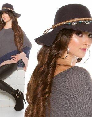 Trendy Flaphoed Anthracit