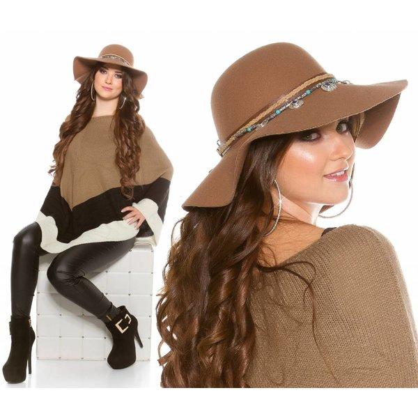 Trendy Flaphoed Caramel