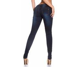 Skinny Jeansbroek in Destroyed Style