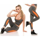Trendy Sport Legging Neon Oranja